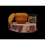 Vasetto a base di Cera d'api con celle e Miele di Millefiori di Maremma bio da 40 g